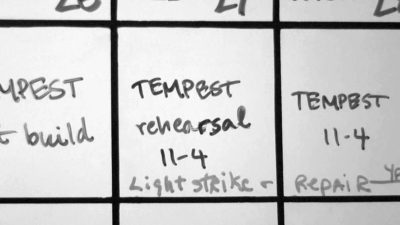 The Tempest production notes